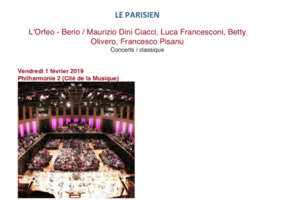 Le Parisien | 1.2.2019